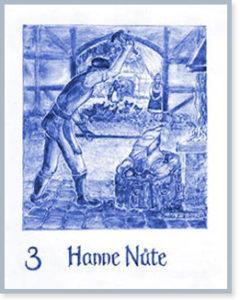 """Wohnung 3: Motiv """"Hanne Nüte"""""""