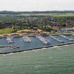 Luftansicht Bootshafen Kühlungsborn Ost