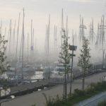 Bootshafen im Morgennebel Kühlungsborn Ost