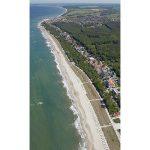 Luftansicht Kühlungsborn Strand und Promenade