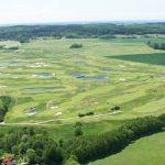 Luftansicht Golfplatz Wittenbeck