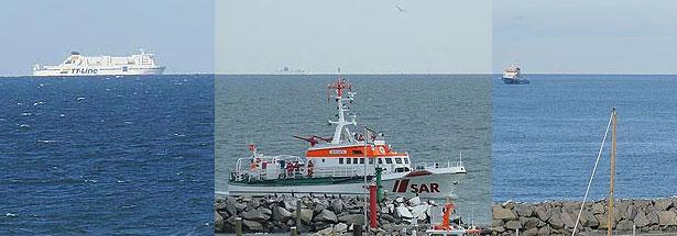 TT-Line, Seenotkreuter auf der Ostsee