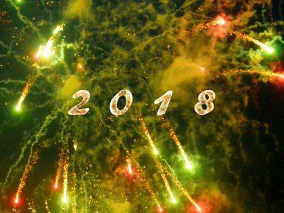 Neujahrsgrüße für 2018