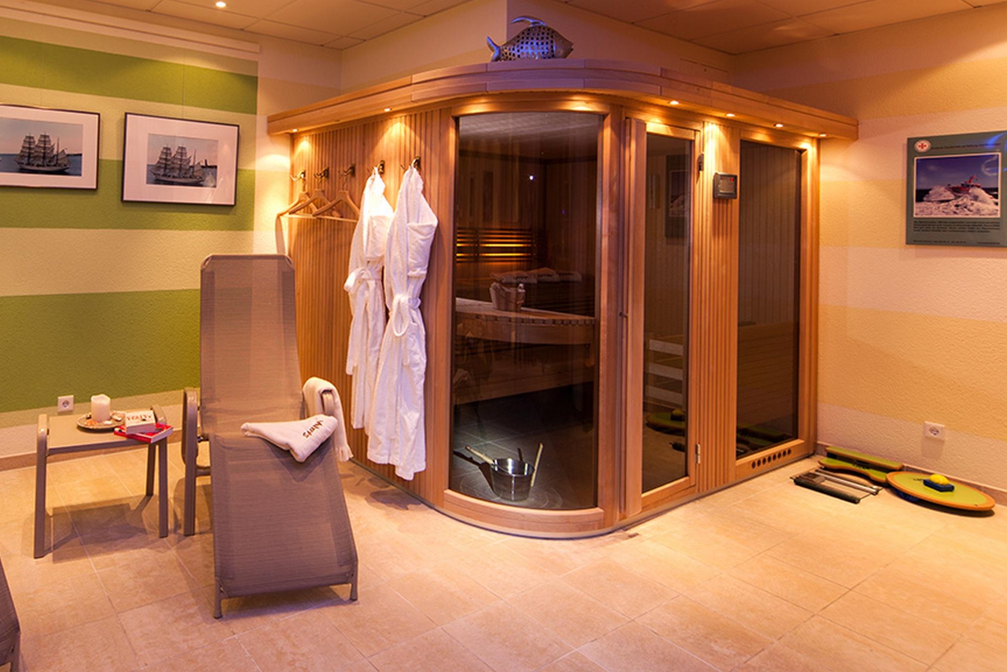 Sauna Strandresidenz Kühlungsborn
