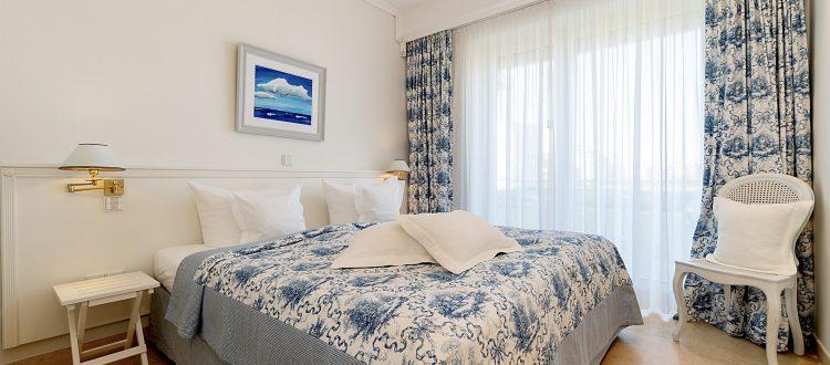Schlafzimmer Wohnung 5, Strandresidenz Kühlungsborn