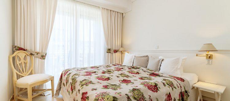 Schlafzimmer Wohnung 6, Strandresidenz Kühlungsborn