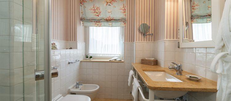 Badezimmer Wohnung 1, Strandresidenz Kühlungsborn
