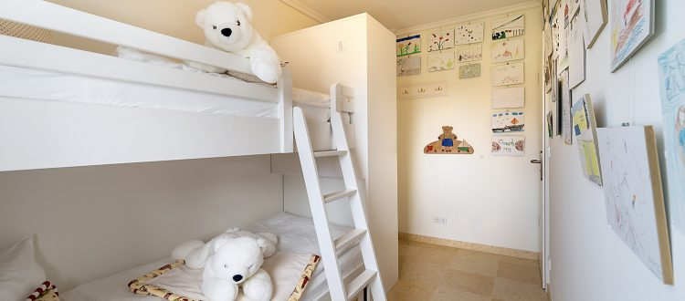 Kinderzimmer Wohnung 2, Strandresidenz Kühlungsborn
