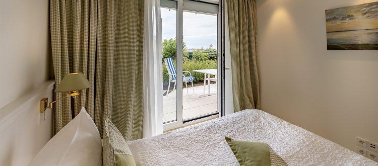 Schlafzimmer Wohnung 2, Strandresidenz Kühlungsborn