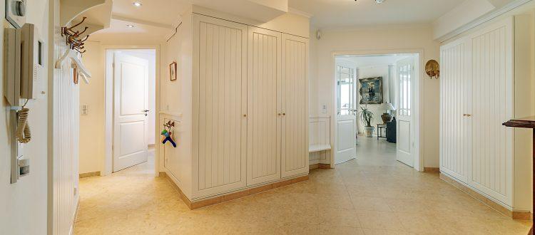 Eingangsbereich Wohnung 1, Strandresidenz Kühlungsborn