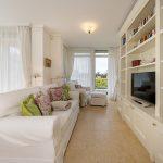 Wohnzimmer Wohnung 2, Strandresidenz Kühlungsborn