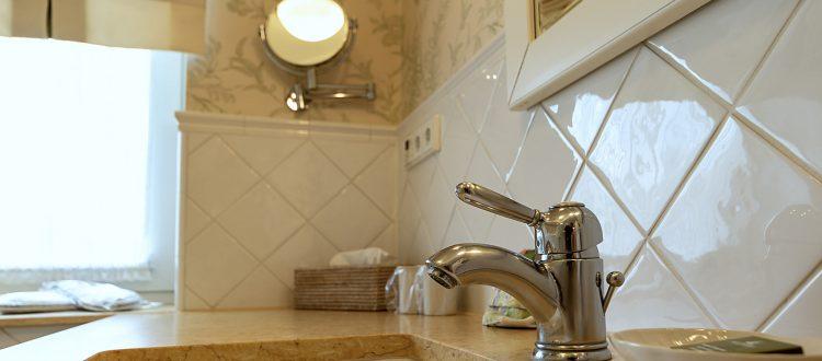 Badezimmer Wohnung 2, Strandresidenz Kühlungsborn