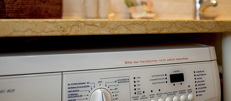 Waschmaschine Wohnung 3, Strandresidenz Kühlungsborn