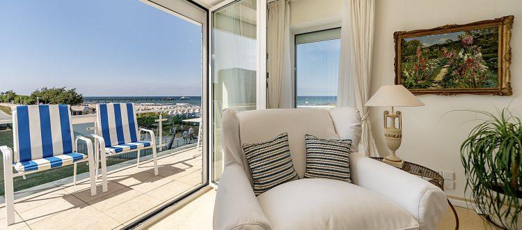 Balkon Wohnung 4, Strandresidenz Kühlungsborn