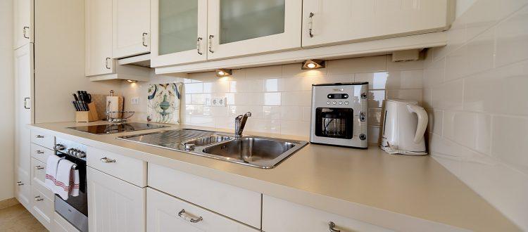 Küche Wohnung 4, Strandresidenz Kühlungsborn