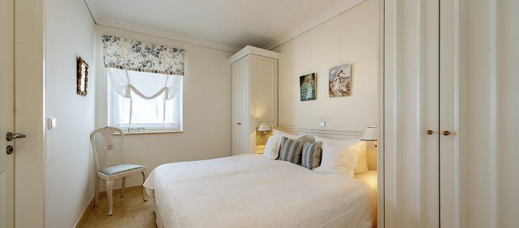 Schlafzimmer Wohnung 4, Strandresidenz Kühlungsborn