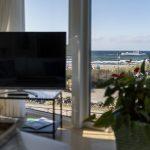 Wohnzimmer Wohnung 4, Strandresidenz Kühlungsborn