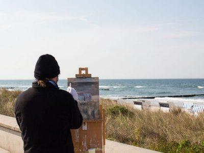 Maler, Pleinair Kühlungsborn
